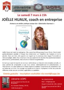 Présentation du livre Génération burnout